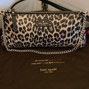 Kate Spade GROVE STREET LEOPARD JANE CROSSBODY